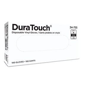 White vinyl glove 100 / box