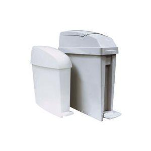Poubelle sanitaire gris 5gal
