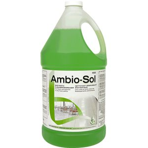AMBIO-SOL - Enzymatic cleaner / degreaser for floors and grouts
