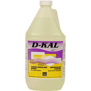 D-KAL - Liquid descaler for commercial dishwashers 3,8L