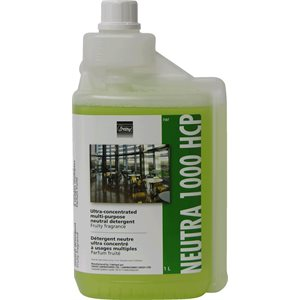 NEUTRA 1000 HCP - Ultra-concentrated multi-purpose neutral detergent 1L