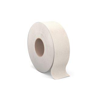 Papier hygiénique en rouleau géant 2plis / 1000' moka 12 / cs