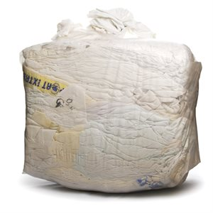 White coton rag 10lbs