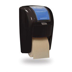 Distributrice de papier hygiénique haute capacité X2 Tandem, Noir