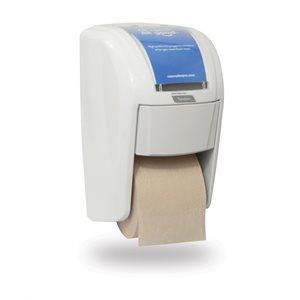 Distributrice de papier hygiénique haute capacité X2 Tandem, Blanc