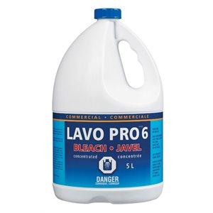 Javel water 6% 3 X 5L