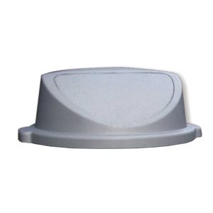 Courvercle gris rond
