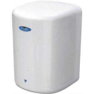 'Bleu express' hand dryer / hands free satin stainless steel