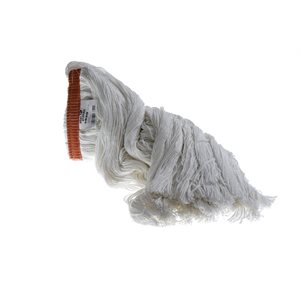 Flat head cotton string mops for waxing