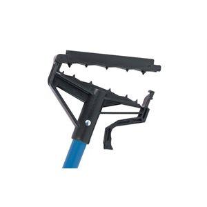 "LOCK 'N' LOAD fiberglass blue wet mop handle 60"""