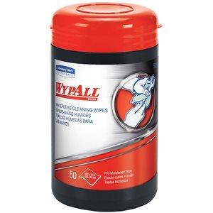 lingette nettoyante WYPALL 50 / pot