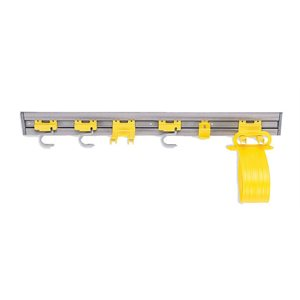 """Accessory holder kit with hooks 34"""""""