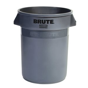 'Brute' 44gal grey utility container