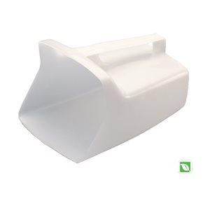 Bouncer pelle utilitaire 64 oz blanche