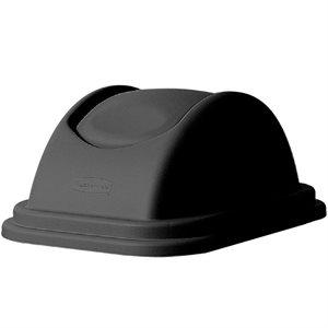 Couvercle dome noir