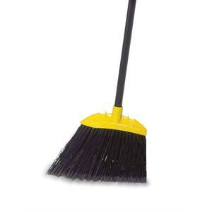 """Jumbo smooth angle broom 9.5"""" with 54"""" metal handle"""