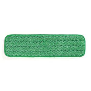 Green 18'' wet microfibre pad