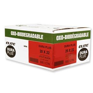 Elite Garbage bags 20 x 22 - 500 / cs