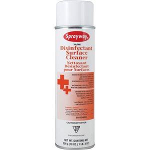 Nettoyant désinfectant en aérosol 19 oz pour surfaces