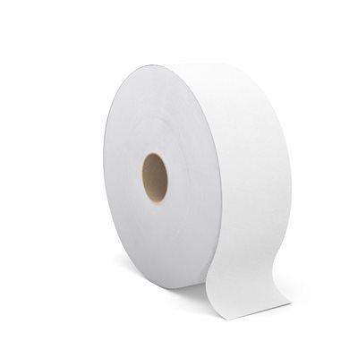 Perform™ Jumbo Roll Bath Tissue for Tandem, 1400' / 2ply White 6 / cs